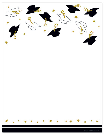 Free Printable Graduation Templates Letterhead