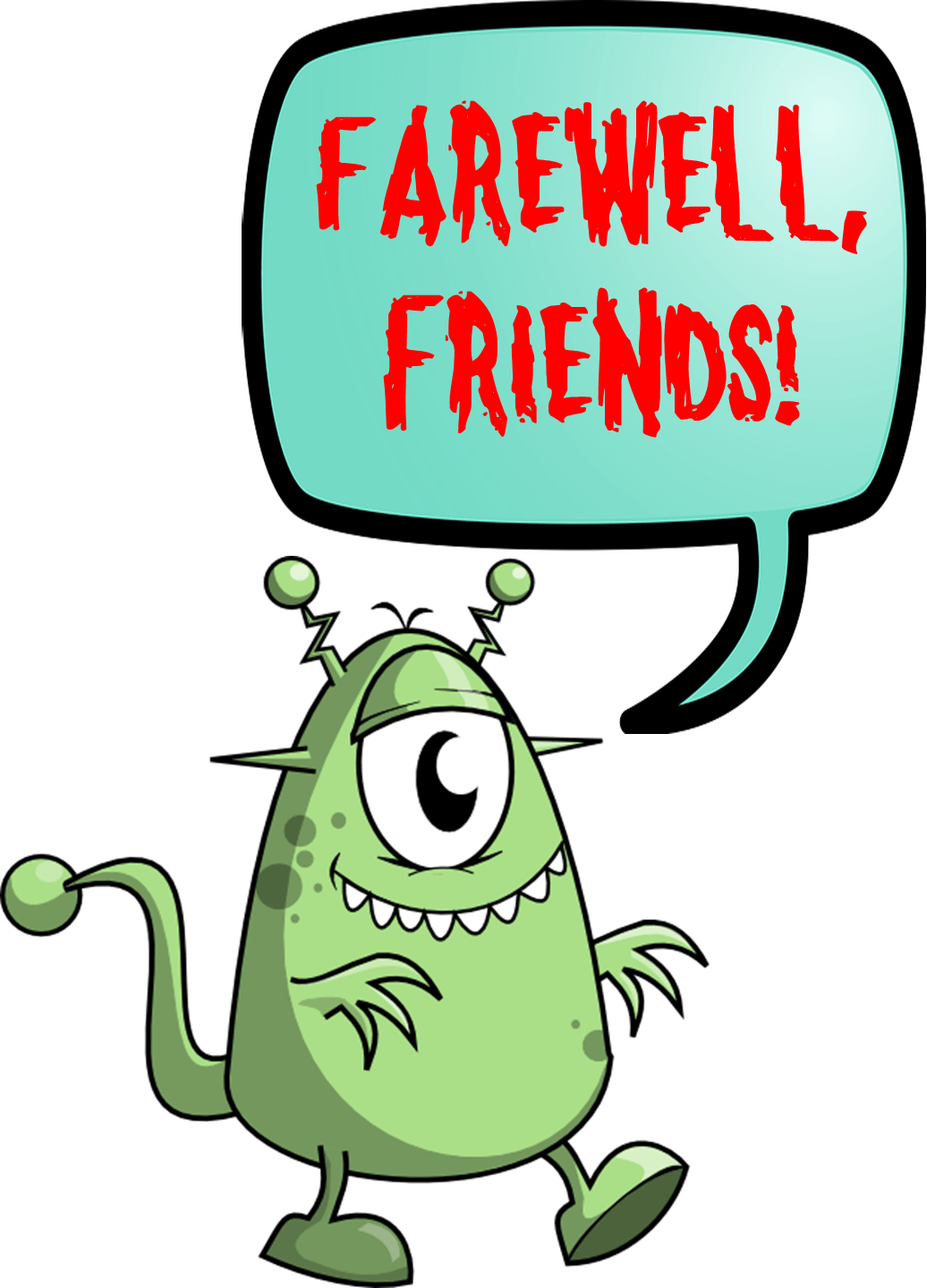hight resolution of farewell clipart free