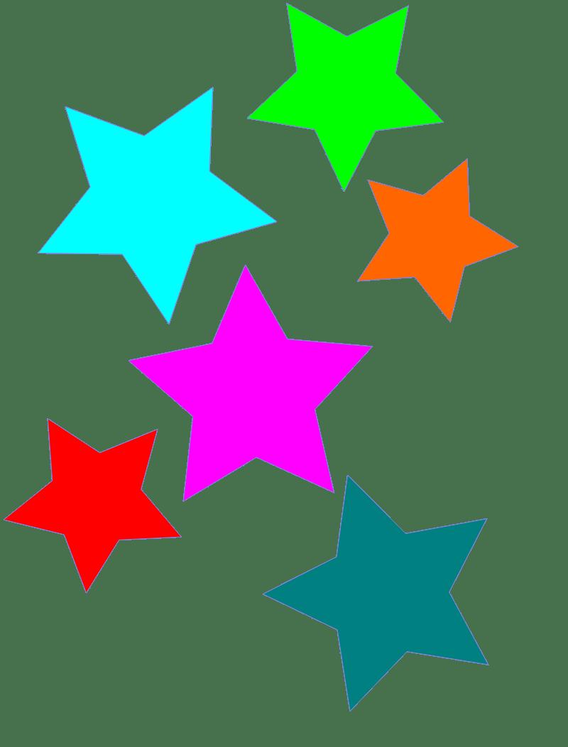 hight resolution of stars clipart