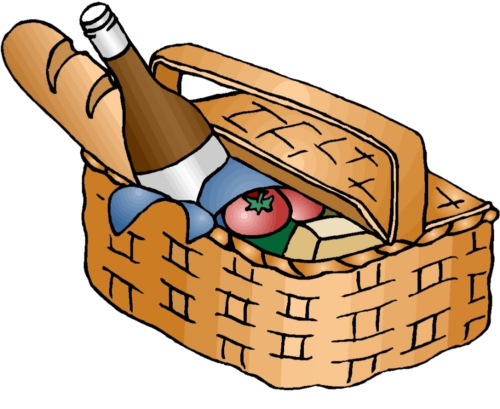medium resolution of picnic hampers clipart