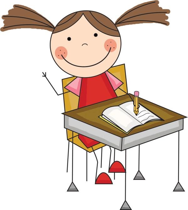 Scrappin Doodles Student Writing Clip Art