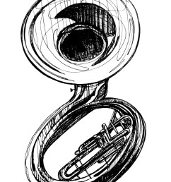 sousaphone cliparts 266024 license personal use  [ 1200 x 1637 Pixel ]