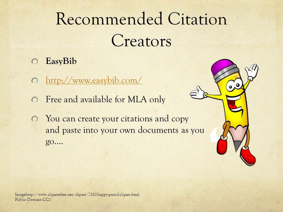 citation mla website