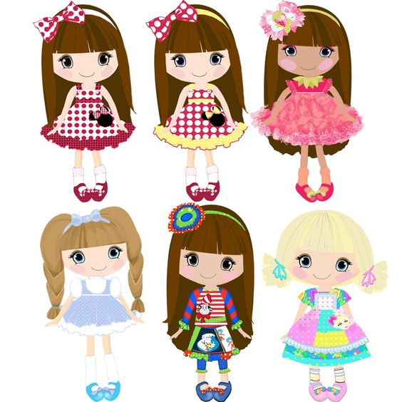 free dolls cliparts