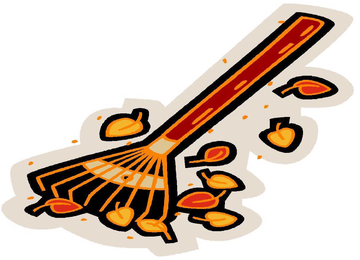 hight resolution of rake clipart