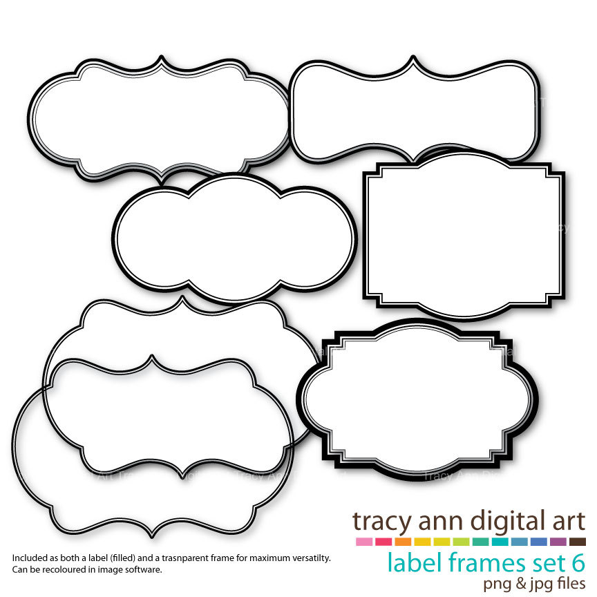 free label cliparts download