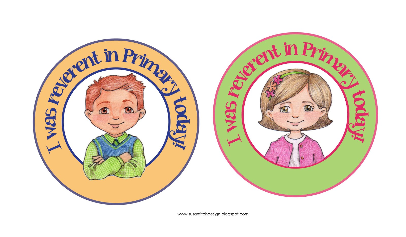 hight resolution of susan fitch design reverence badges