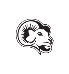 ram mascot clipart [ 1356 x 1282 Pixel ]