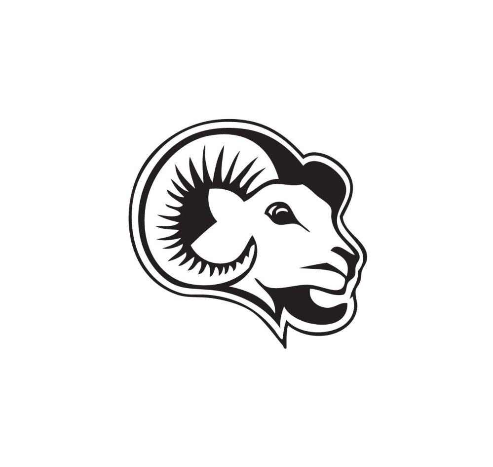 medium resolution of ram mascot clipart