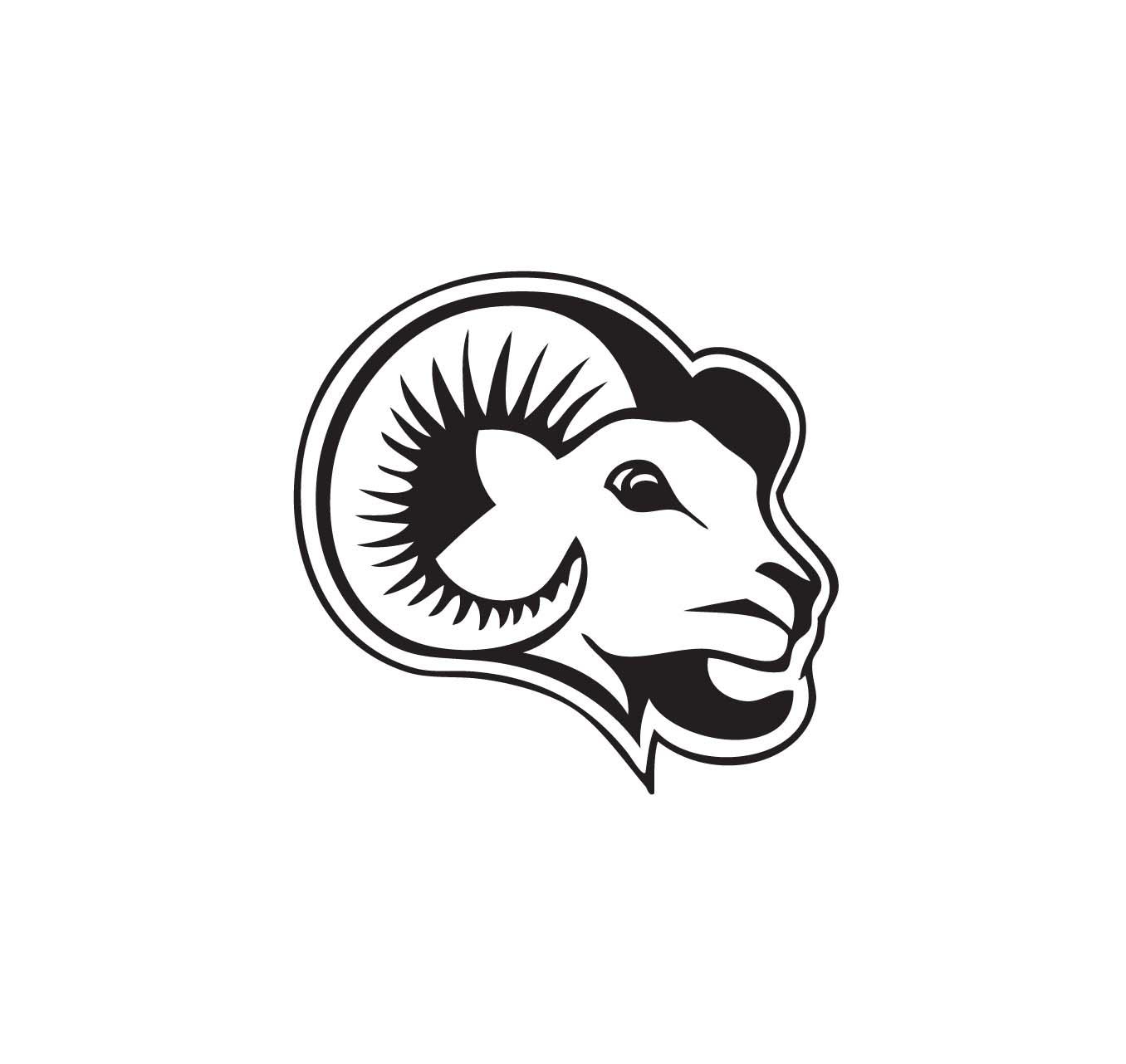 hight resolution of ram mascot clipart