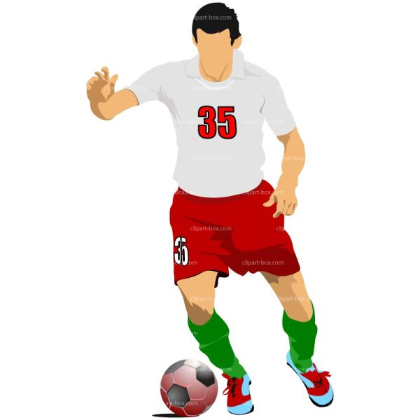 Soccer Player Clip Art Free
