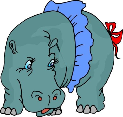 small resolution of hippopotamus clip art