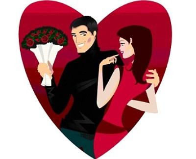 flirting clipart free