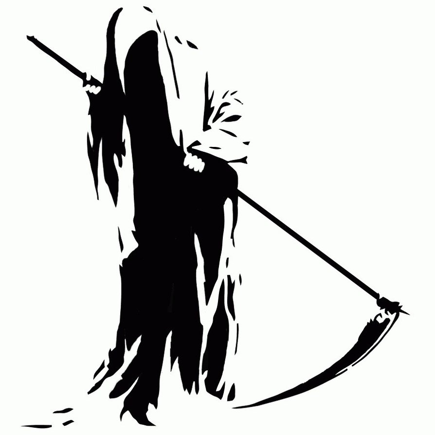 hight resolution of grim reaper clip art
