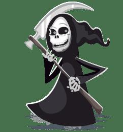 free grim reaper clipart public domain halloween clip art image [ 1000 x 1000 Pixel ]
