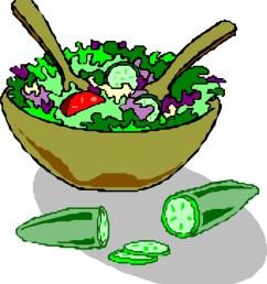 salad clipart [ 931 x 1024 Pixel ]