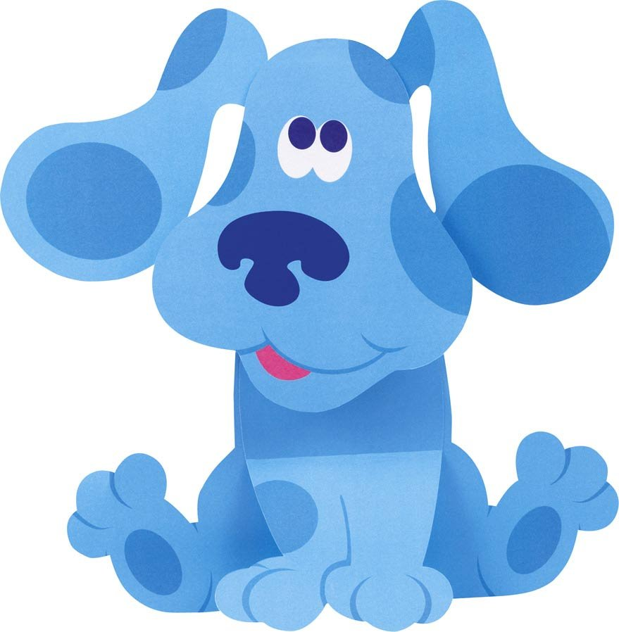 hight resolution of blues clues