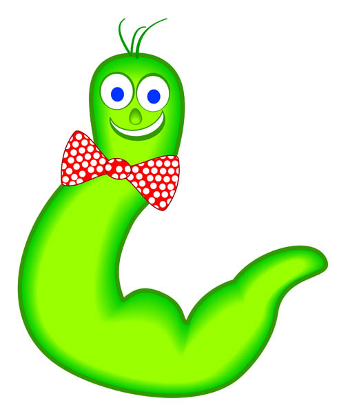 free worms cliparts