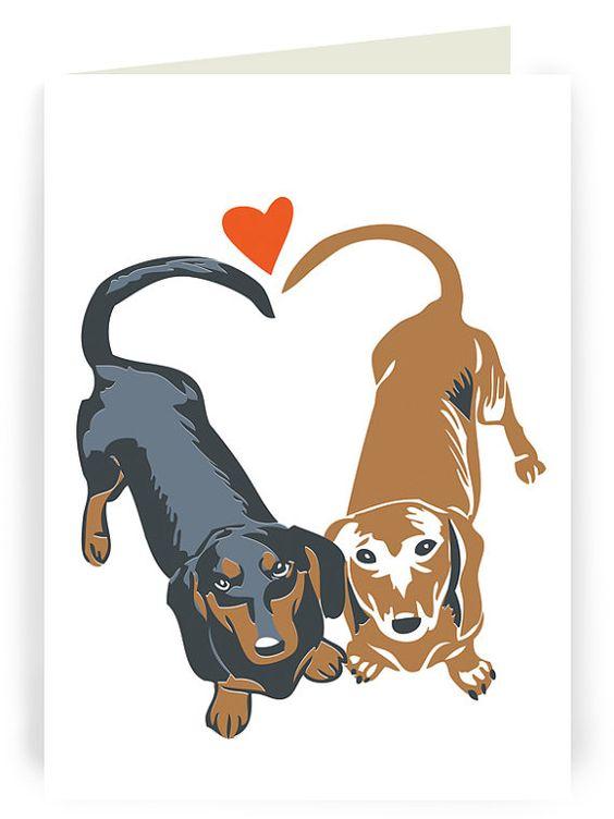 free dachshund valentine cliparts