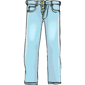 free skinny jeans cliparts
