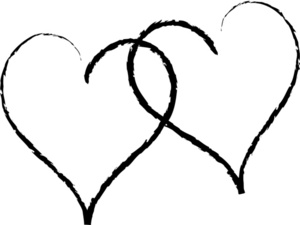 free heart wedding cliparts