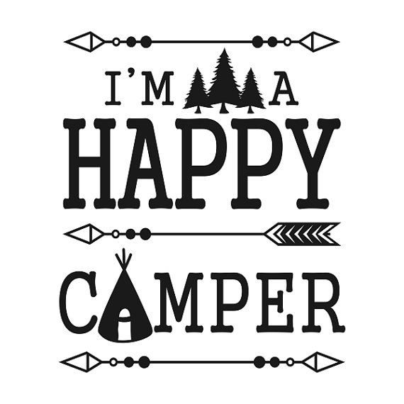Free Camper Silhouette Cliparts, Download Free Clip Art