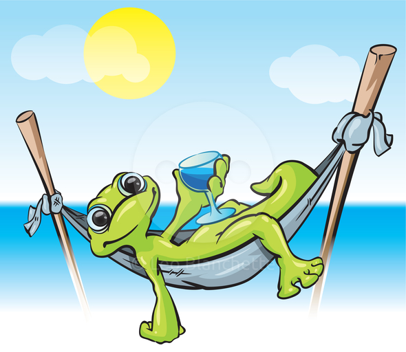 Free Relaxing Clipart Image