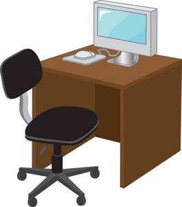 free office cubicle cliparts