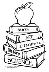back to school clipart black and white Clip Art Library
