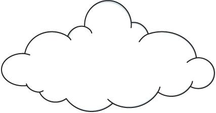 A Cloud Clipart