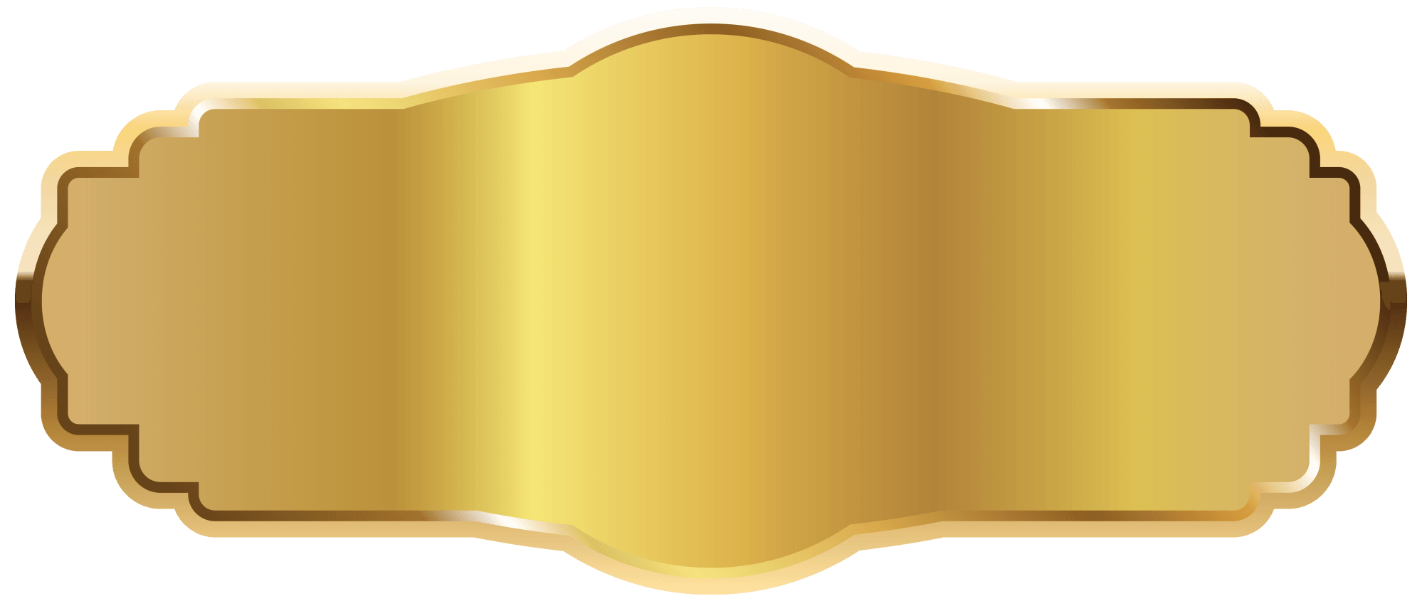 hight resolution of gold label png clipart image