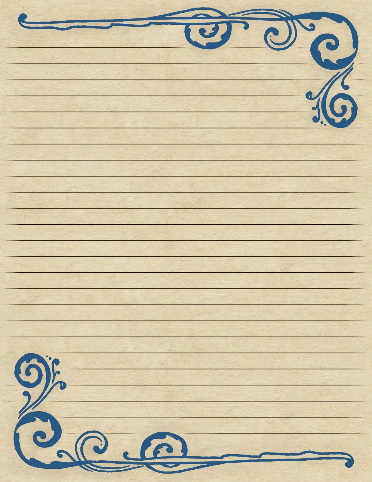 Free Lined Paper Cliparts, Download Free Clip Art, Free