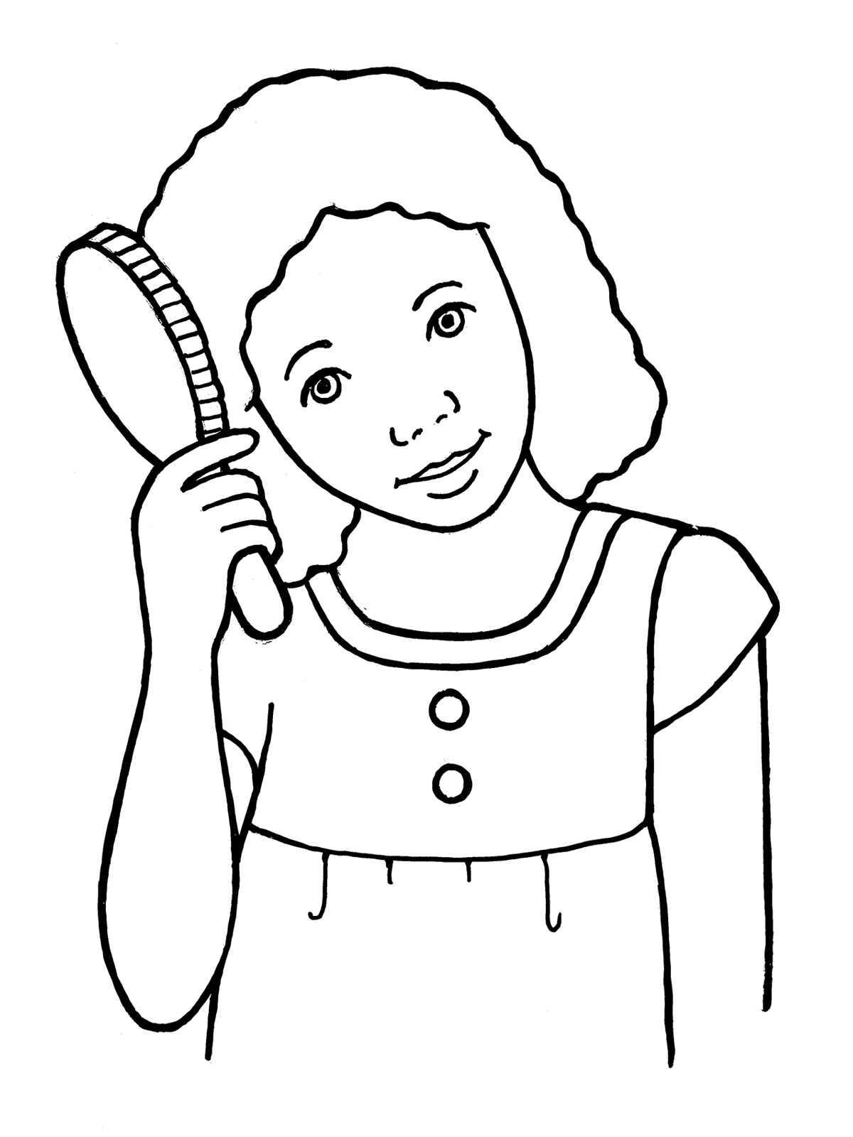Free Brushing Hair Cliparts Download Free Clip Art Free
