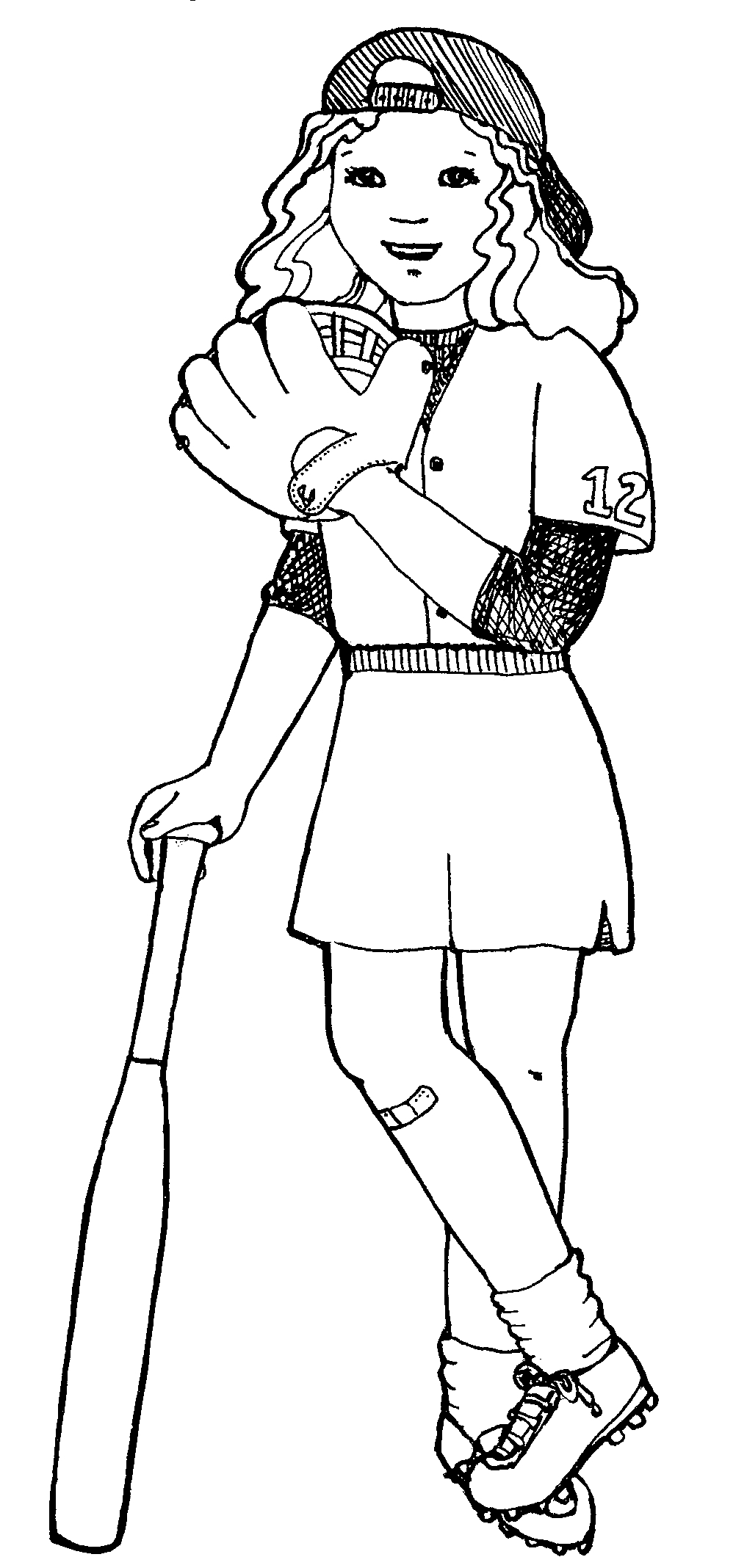 Free Female Softball Cliparts, Download Free Clip Art