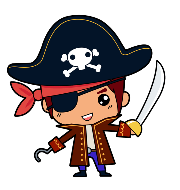 free pirate baby cliparts