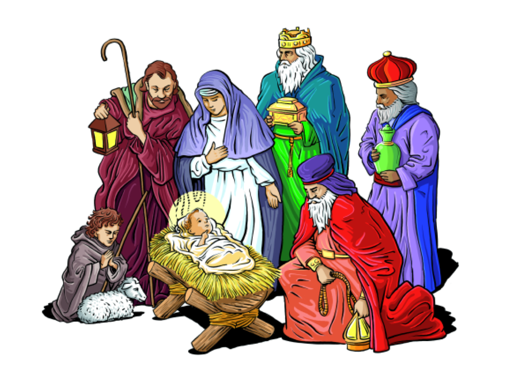 hight resolution of nativity