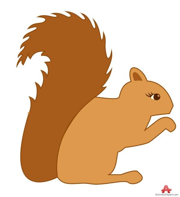 free woodland squirrel cliparts