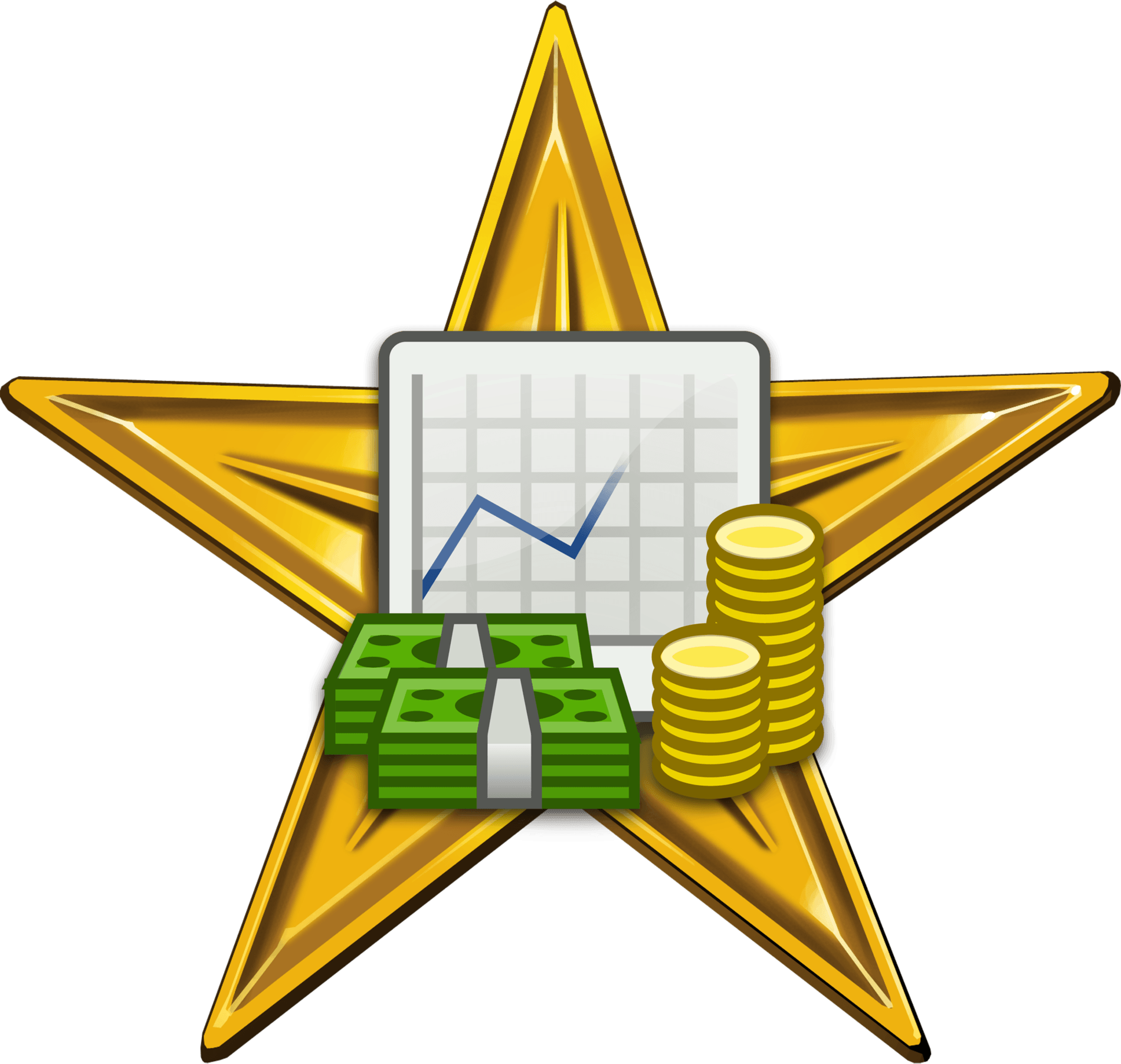 hight resolution of business and economics barnstar hirespng clipart
