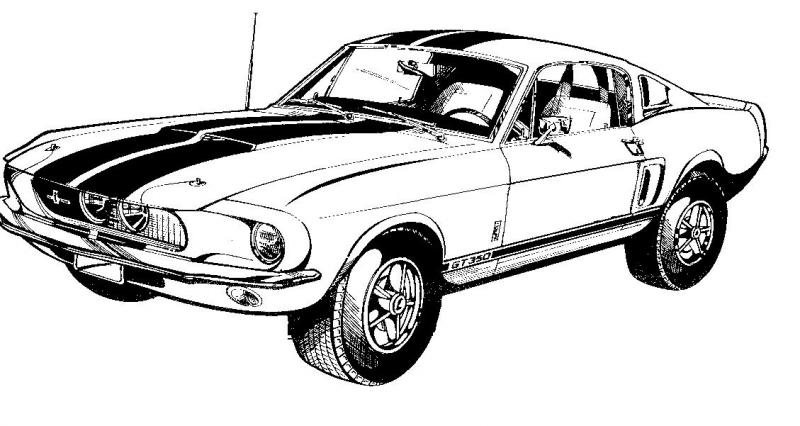 Free Convertible Mustang Cliparts, Download Free