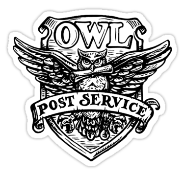 Owl post clipart