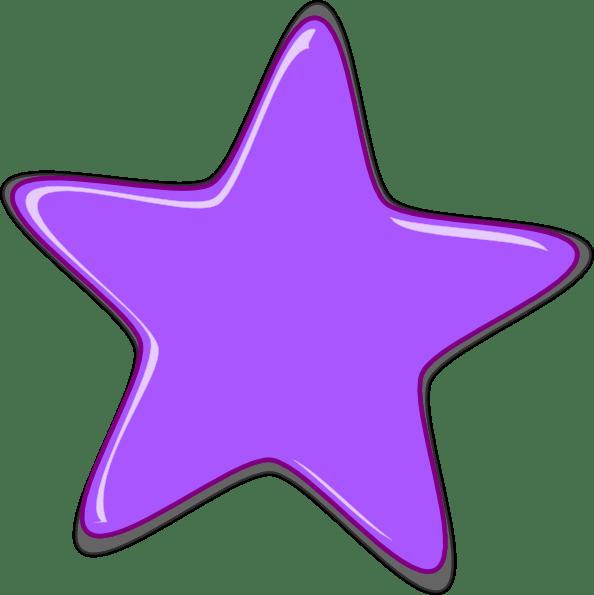 free star cliparts single