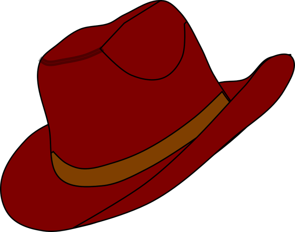 Free Red Western Cliparts Clip Art