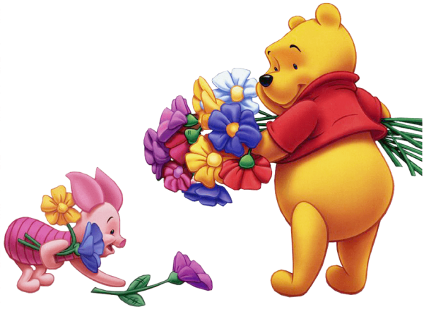 free disney cliparts flowers