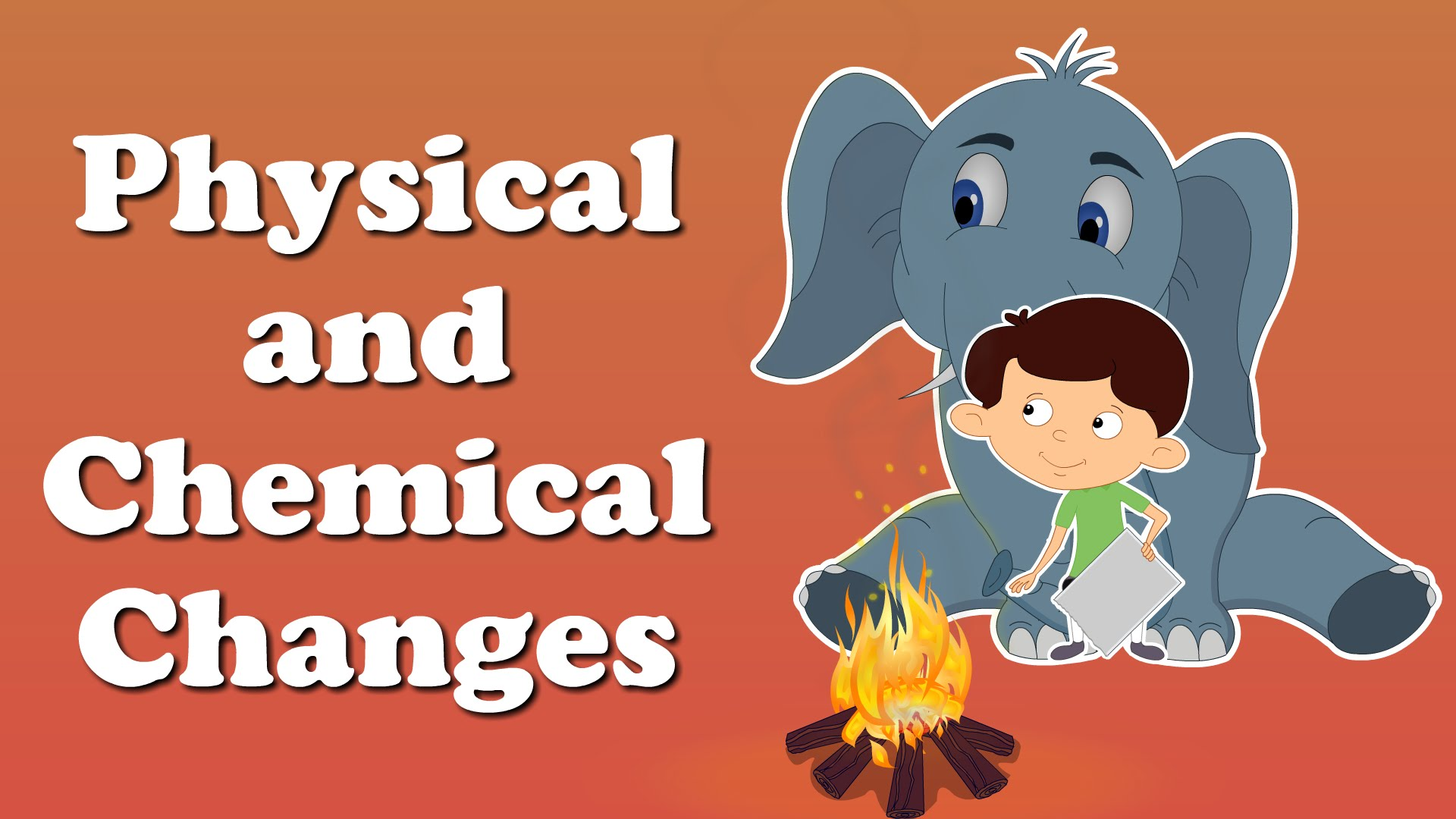 Physical And Chemical Changes Clipart