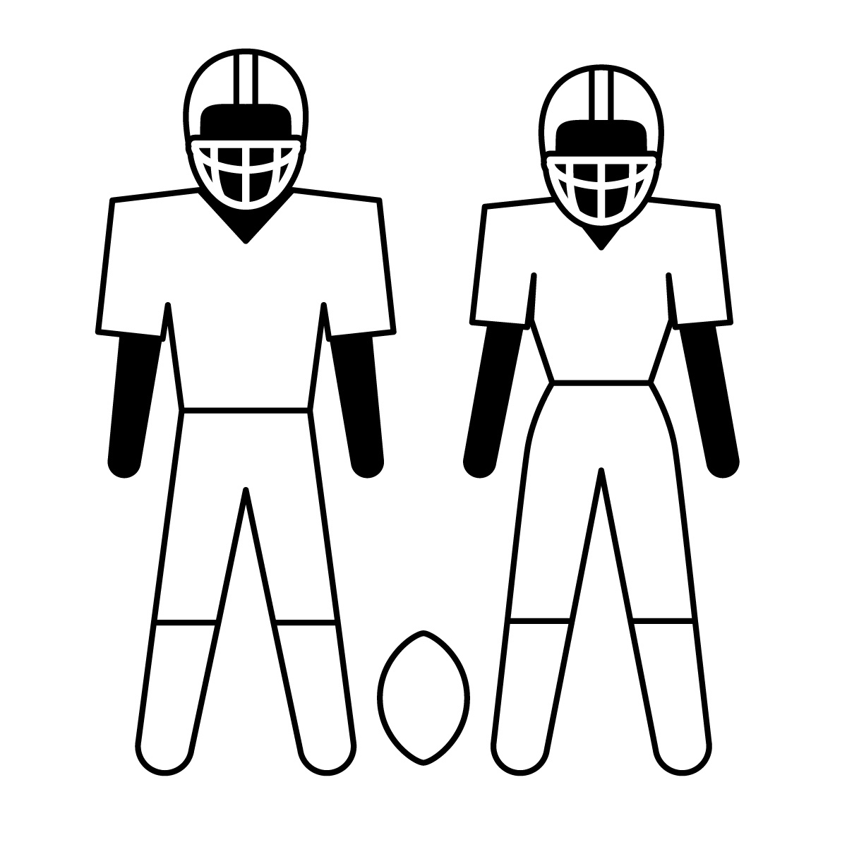 Free Football Group Cliparts Download Free Clip Art Free