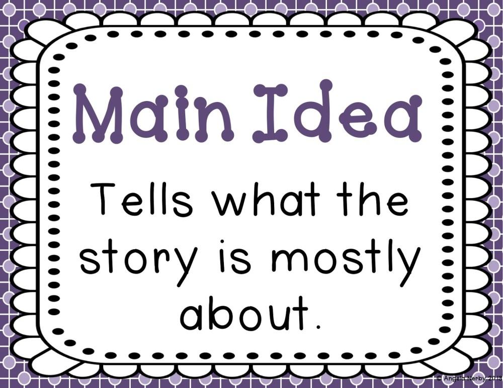 medium resolution of main idea first grade - Clip Art Library