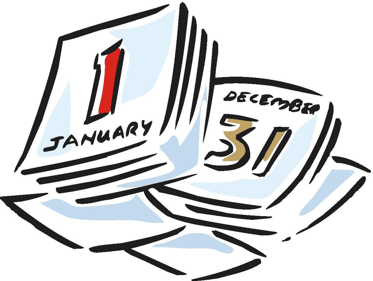hight resolution of calendar