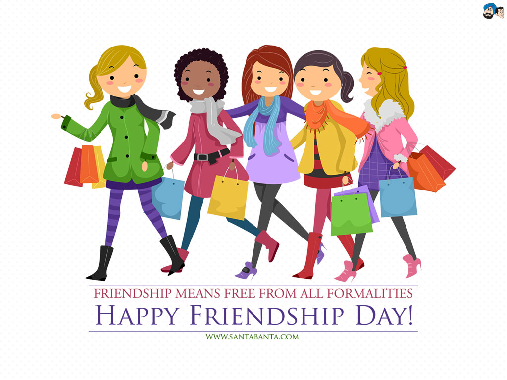 hight resolution of friend day clipart free