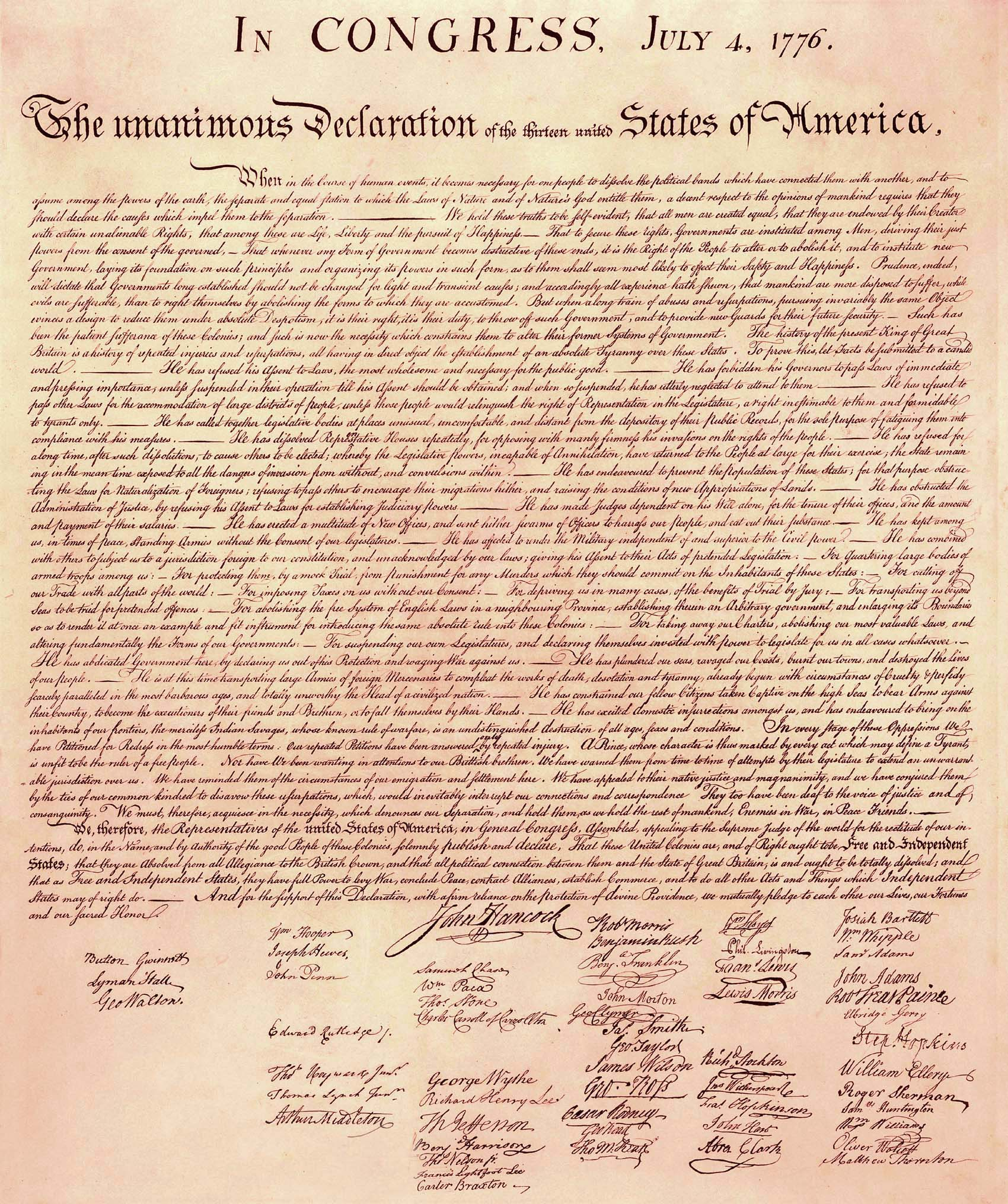 hight resolution of declaration