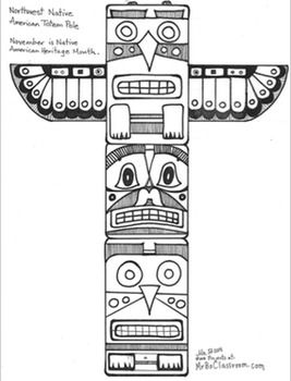 Free Totem Outline Cliparts, Download Free Clip Art, Free